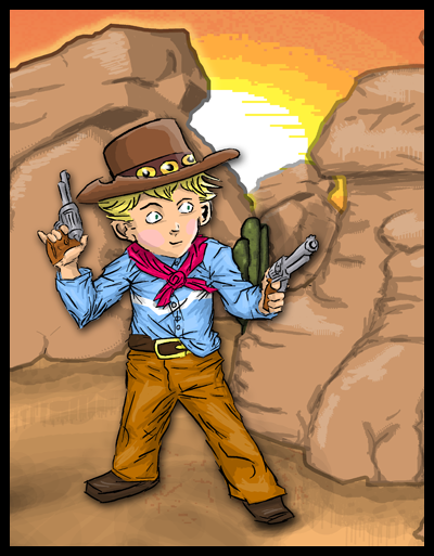 KidProfile Boot Hill Heroes Art   Kid