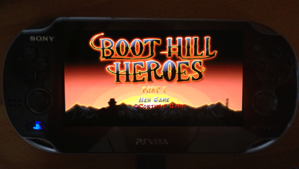 Boot Hill Heroes on Sony Vita