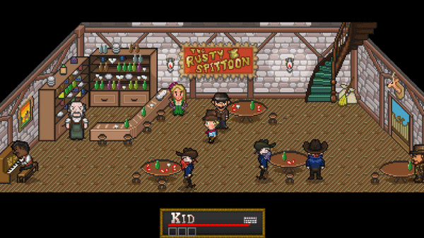 PSM players will definitely notice the game slow down to about 1-2 fps in the ol' Rusty Spittoon here