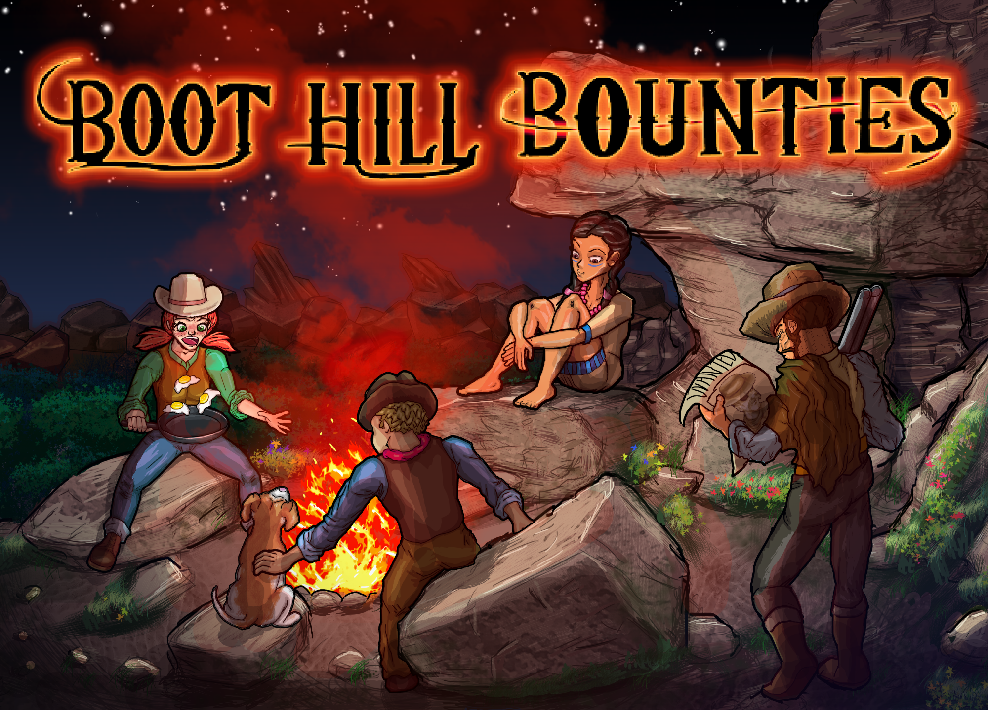 boothillbountiesboxartlarge Announcing Boot Hill Bounties! Coming to Steam December 1