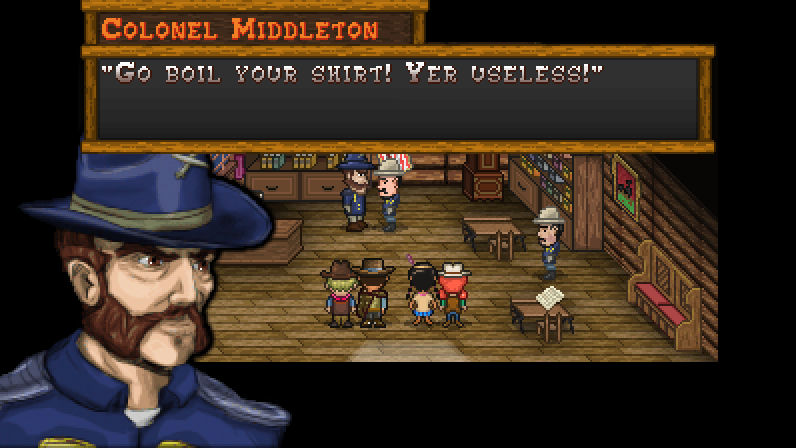 Boot Hill Bounties 2017 11 09 22 02 27 05 Corral Countdown 16: (Devblog Friday) Writing Voices and Dialects