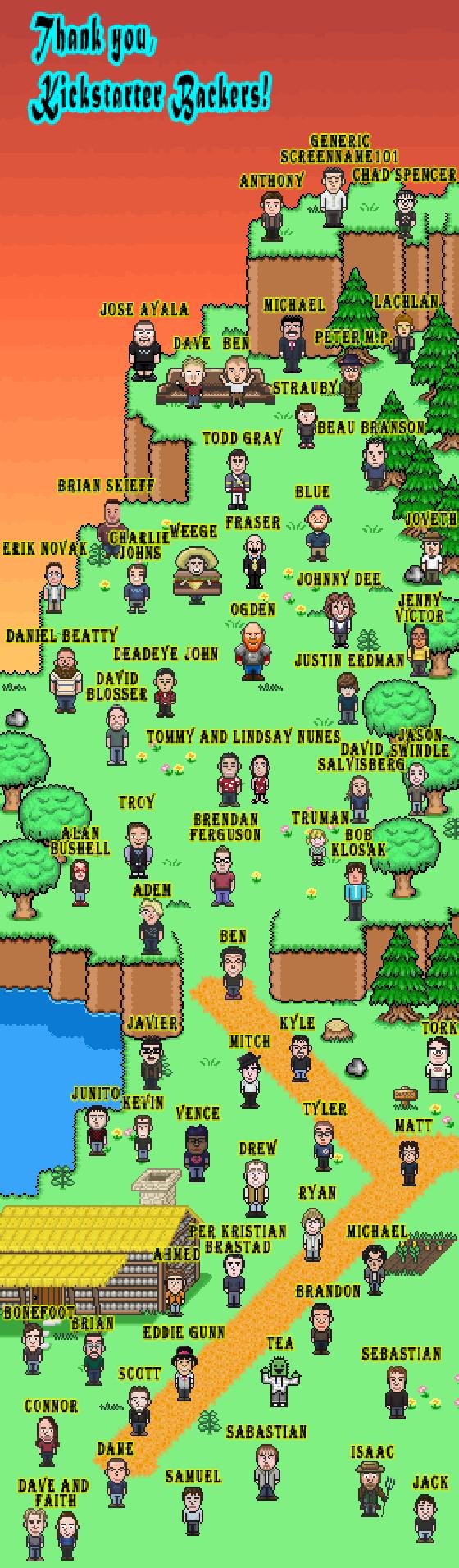 Kickstarter Hill of Fame