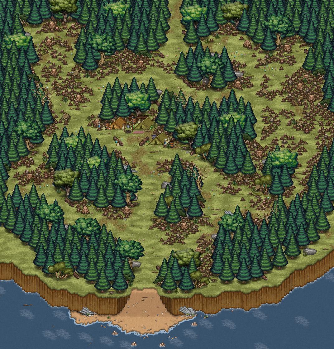 ChepakwikForest Corral Countdown 31: Natural Dungeon Design (Devblog Friday)